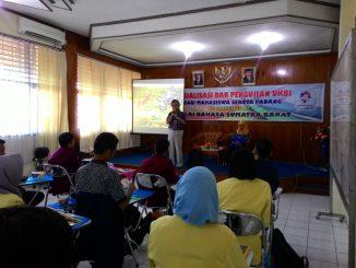 Sosialisasi dan Pengujian UKBI bagi Mahasiswa Se-Kota Padang